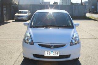 2006 Honda Jazz Upgrade VTi White 7 Speed CVT Auto Sequential Hatchback.