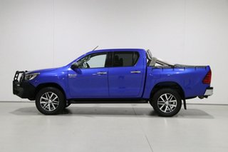 2018 Toyota Hilux GUN126R MY19 SR5 (4x4) Blue 6 Speed Automatic Double Cab Pick Up