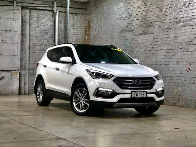 Used Hyundai Santa Fe DM3 MY16 Highlander Mile End South, 2016 Hyundai Santa Fe DM3 MY16 Highlander White 6 Speed Sports Automatic Wagon