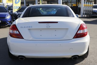2007 Mercedes-Benz SLK-Class R171 MY07 SLK280 White 7 Speed Automatic Roadster