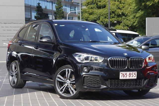 Used BMW X1 F48 sDrive18d Steptronic Newstead, 2018 BMW X1 F48 sDrive18d Steptronic Black 8 Speed Sports Automatic Wagon