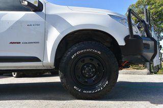 2012 Holden Colorado RG LX (4x4) White 5 Speed Manual Crew Cab Chassis