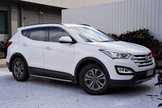 2015 Hyundai Santa Fe DM3 MY16 Active White 6 Speed Sports Automatic Wagon