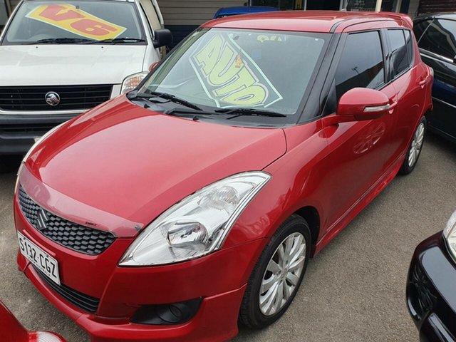 Used Suzuki Swift FZ GL Morphett Vale, 2012 Suzuki Swift FZ GL Red 4 Speed Automatic Hatchback