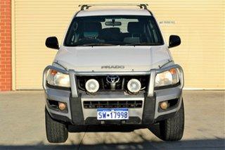 2006 Toyota Landcruiser Prado KZJ120R GX White 5 Speed Manual Wagon.