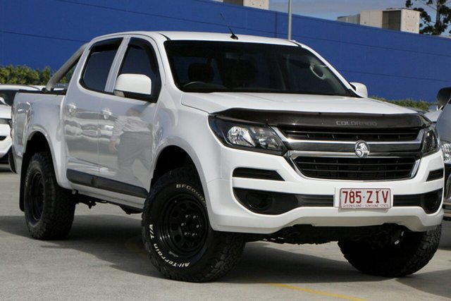 Used Holden Colorado RG MY20 LS Pickup Crew Cab Aspley, 2019 Holden Colorado RG MY20 LS Pickup Crew Cab White 6 Speed Sports Automatic Utility