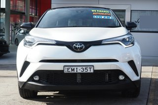 2019 Toyota C-HR NGX10R Koba S-CVT 2WD White Pearl 7 Speed Constant Variable Wagon