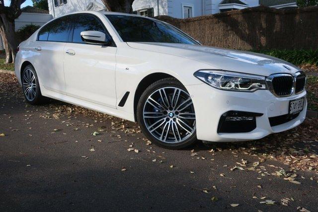 Used BMW 5 Series G30 530i Steptronic M Sport Prospect, 2017 BMW 5 Series G30 530i Steptronic M Sport White 8 Speed Sports Automatic Sedan