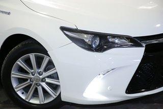2017 Toyota Camry AVV50R Atara S White 1 Speed Constant Variable Sedan Hybrid.