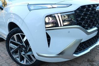 2021 Hyundai Santa Fe Tm.v3 MY21 Highlander DCT White Cream 8 Speed Sports Automatic Dual Clutch.
