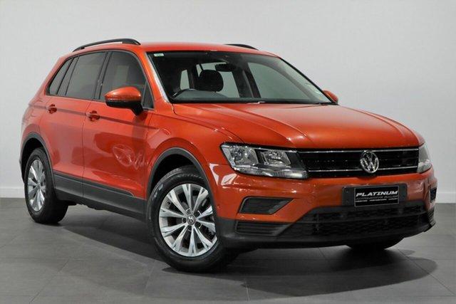 Used Volkswagen Tiguan 5N MY17 110TSI DSG 2WD Trendline Bayswater, 2016 Volkswagen Tiguan 5N MY17 110TSI DSG 2WD Trendline Orange 6 Speed Sports Automatic Dual Clutch