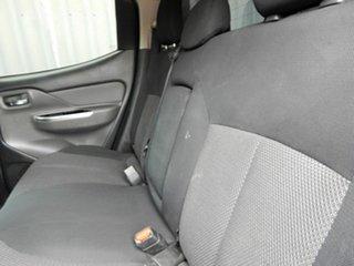 2016 Mitsubishi Triton MQ MY16 GLS Double Cab Black 5 Speed Sports Automatic Utility