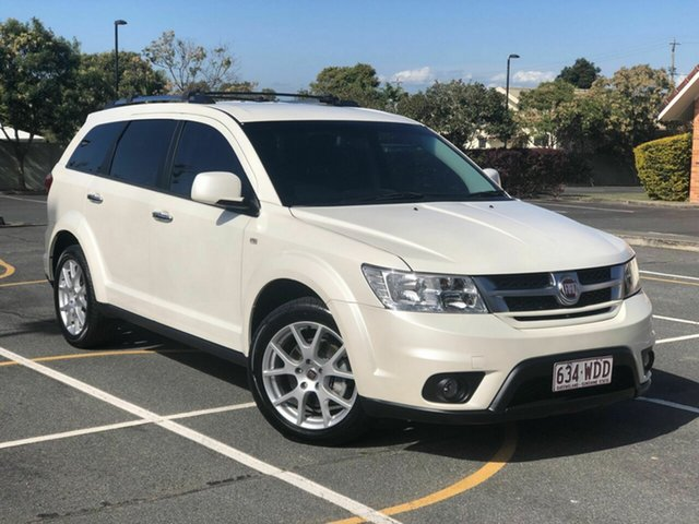 Used Fiat Freemont JF MY15 Lounge Chermside, 2014 Fiat Freemont JF MY15 Lounge White 6 Speed Automatic Wagon