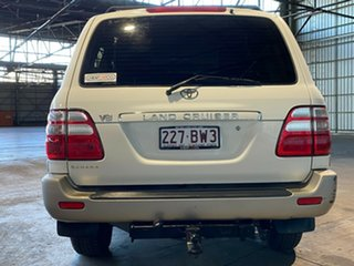 2003 Toyota Landcruiser UZJ100R Sahara White 5 Speed Automatic Wagon