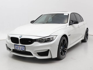 2014 BMW M3 F80 White 7 Speed Auto Dual Clutch Sedan.