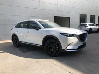 2021 Mazda CX-9 TC GT SP SKYACTIV-Drive i-ACTIV AWD Snowflake White 6 Speed Sports Automatic Wagon.