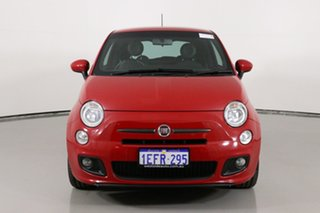 2013 Fiat 500 MY13 Sport Red 5 Speed Automatic Hatchback.