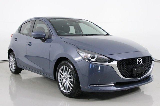 Used Mazda 2 DJ G15 Evolve Bentley, 2019 Mazda 2 DJ G15 Evolve Grey 6 Speed Automatic Hatchback