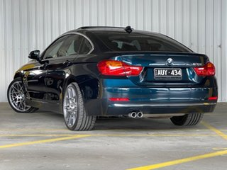 2016 BMW 4 Series F36 428i Gran Coupe Luxury Line Black 8 Speed Sports Automatic Hatchback.