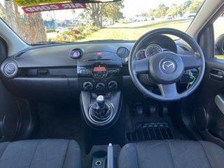 2011 Mazda 2 DE10Y1 MY11 Neo Maroon 5 Speed Manual Hatchback