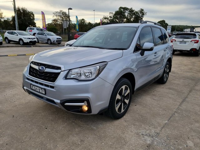Used Subaru Forester S4 MY17 2.5i-L CVT AWD Glendale, 2017 Subaru Forester S4 MY17 2.5i-L CVT AWD Silver 6 Speed Constant Variable Wagon