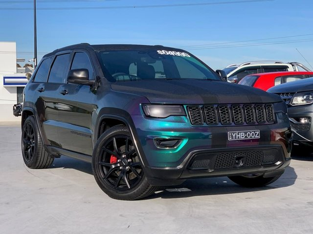 Used Jeep Grand Cherokee WK MY19 Limited Liverpool, 2019 Jeep Grand Cherokee WK MY19 Limited Black 8 Speed Sports Automatic Wagon