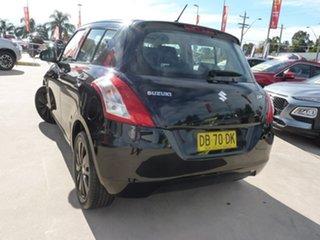 2015 Suzuki Swift FZ MY15 GL Navigator Black 5 Speed Manual Hatchback.