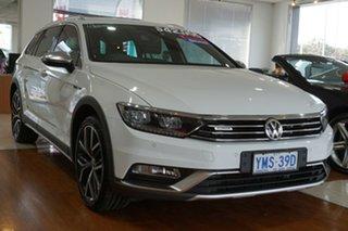 2017 Volkswagen Passat 3C (B8) MY18 Alltrack DSG 4MOTION Wolfsburg Edition White 6 Speed.