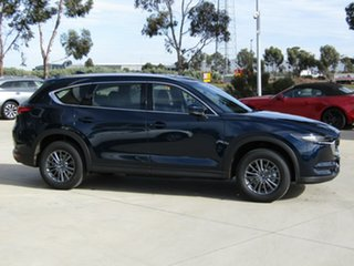 2020 Mazda CX-8 KG2WLA Sport SKYACTIV-Drive FWD Deep Crystal Blue 6 Speed Sports Automatic Wagon.