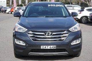 2015 Hyundai Santa Fe DM2 MY15 Highlander Blue 6 Speed Sports Automatic Wagon.