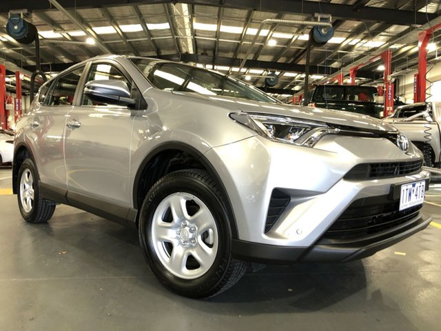 Pre-Owned Toyota RAV4 ZSA42R GX 2WD Oakleigh, 2017 Toyota RAV4 ZSA42R GX 2WD Silver Sky 7 Speed Constant Variable Wagon
