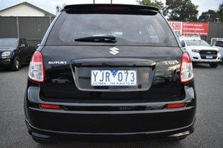 2011 Suzuki SX4 GYA MY10 S Black/Grey 6 Speed Constant Variable Hatchback.
