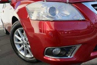 2009 Toyota Aurion GSV40R MY10 Prodigy Barcelona Red 6 Speed Sports Automatic Sedan.