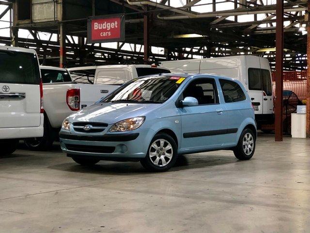 Used Hyundai Getz TB MY06 Mile End South, 2006 Hyundai Getz TB MY06 Blue 4 Speed Automatic Hatchback
