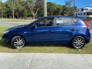 2012 Hyundai i30 FD MY11 Trophy Blue 4 Speed Automatic Hatchback