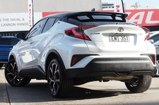 2019 Toyota C-HR NGX10R Koba S-CVT 2WD White Pearl 7 Speed Constant Variable Wagon.