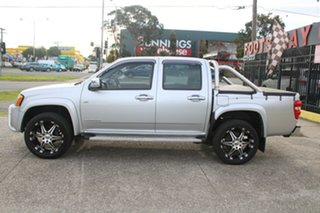 2009 Holden Colorado RC MY10 LT-R (4x2) Silver 4 Speed Automatic Crew Cab Pickup.