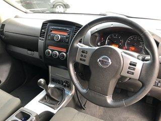 2010 Nissan Navara D40 ST-X 40th Anniversary Quartz 6 Speed Manual Utility.
