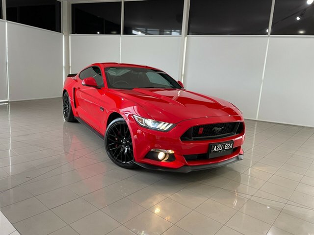 Used Ford Mustang FM 2017MY GT Fastback Deer Park, 2017 Ford Mustang FM 2017MY GT Fastback Red 6 Speed Manual Fastback