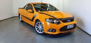 2014 Ford Falcon FG MkII XR6 Ute Super Cab Turbo Orange 6 Speed Sports Automatic Utility.