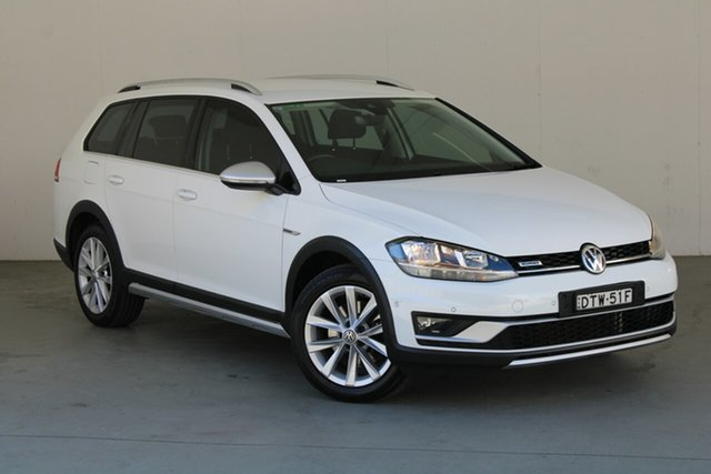 Used Volkswagen Golf 7.5 MY18 Alltrack DSG 4MOTION 132TSI Phillip, 2017 Volkswagen Golf 7.5 MY18 Alltrack DSG 4MOTION 132TSI White 6 Speed Sports Automatic Dual Clutch