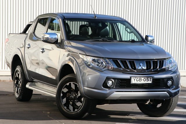Used Mitsubishi Triton MQ MY17 Exceed Double Cab Wollongong, 2016 Mitsubishi Triton MQ MY17 Exceed Double Cab Silver 5 Speed Sports Automatic Utility