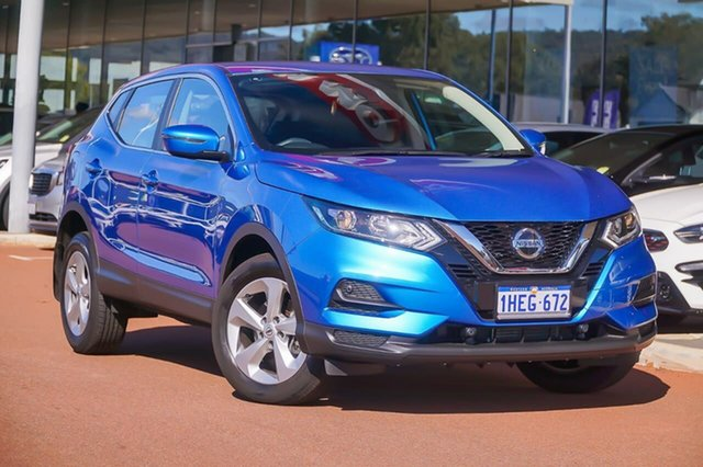Used Nissan Qashqai J11 Series 3 MY20 ST X-tronic Gosnells, 2020 Nissan Qashqai J11 Series 3 MY20 ST X-tronic Blue 1 Speed Constant Variable Wagon