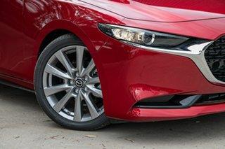 2021 Mazda 3 BP2SLA G25 SKYACTIV-Drive Astina Soul Red Crystal 6 Speed Sports Automatic Sedan.
