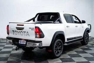 2017 Toyota Hilux GUN126R SR5 Double Cab White 6 Speed Manual Utility