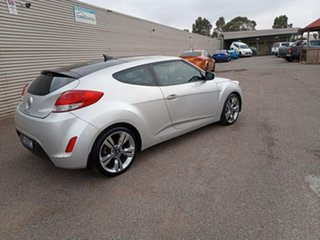 2011 Hyundai Veloster FS + Coupe Silver 6 Speed Manual Hatchback