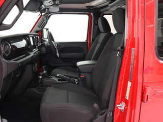 2021 Jeep Wrangler Unlimited JL MY21 Night Eagle (4x4) Red 8 Speed Automatic Hardtop