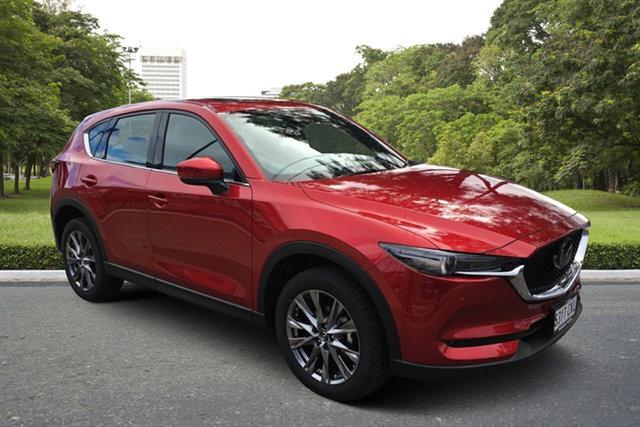 Demo Mazda CX-5 KF4WLA Akera SKYACTIV-Drive i-ACTIV AWD Paradise, 2021 Mazda CX-5 KF4WLA Akera SKYACTIV-Drive i-ACTIV AWD Soul Red 6 Speed Sports Automatic Wagon