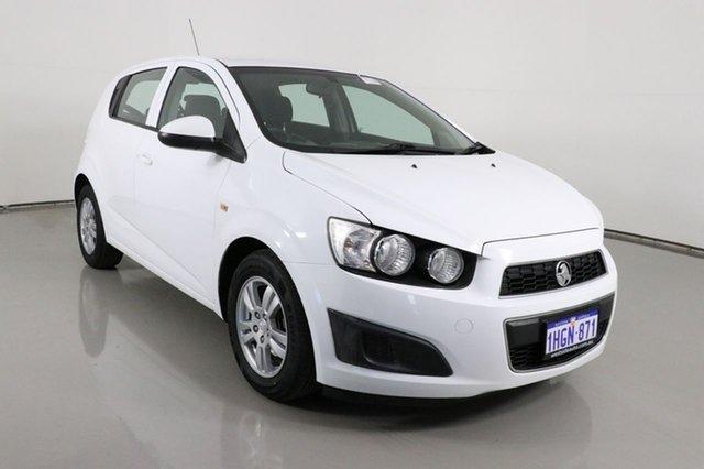 Used Holden Barina TM MY16 CD Bentley, 2016 Holden Barina TM MY16 CD White 6 Speed Automatic Hatchback