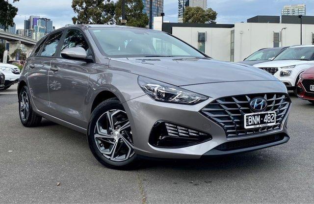 Demo Hyundai i30 PD.V4 MY21 South Melbourne, 2021 Hyundai i30 PD.V4 MY21 Fluidic Metal 6 Speed Sports Automatic Hatchback